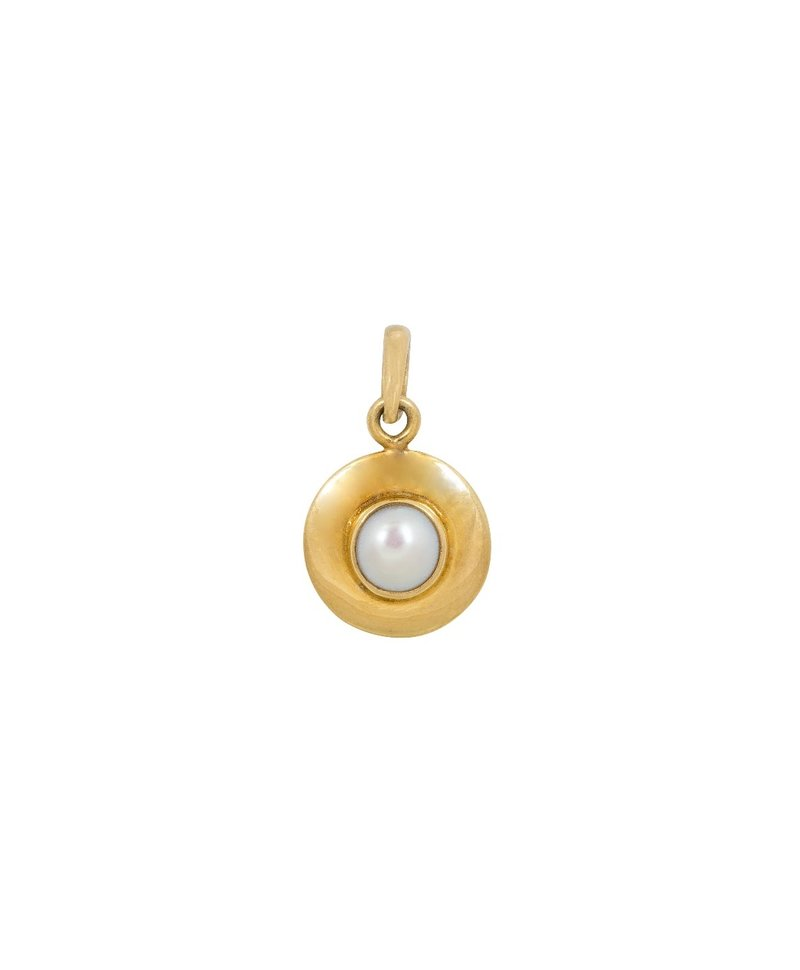Pearl Pendant Hala, Gold Plated