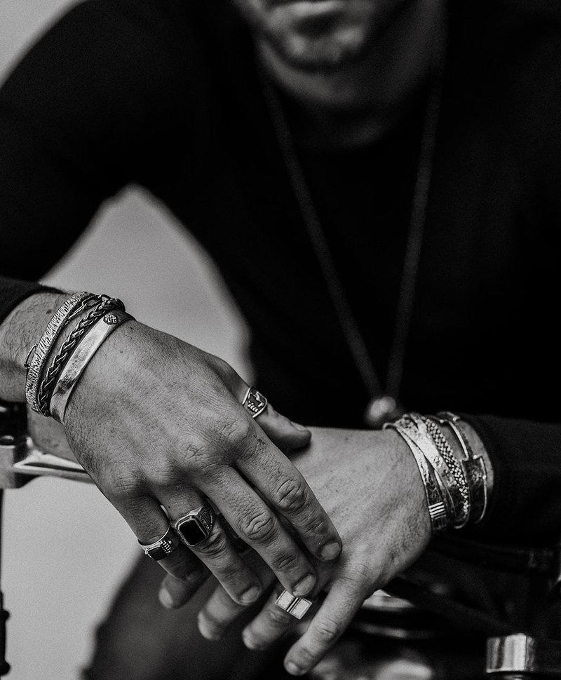 Black Onyx Ring Tian
