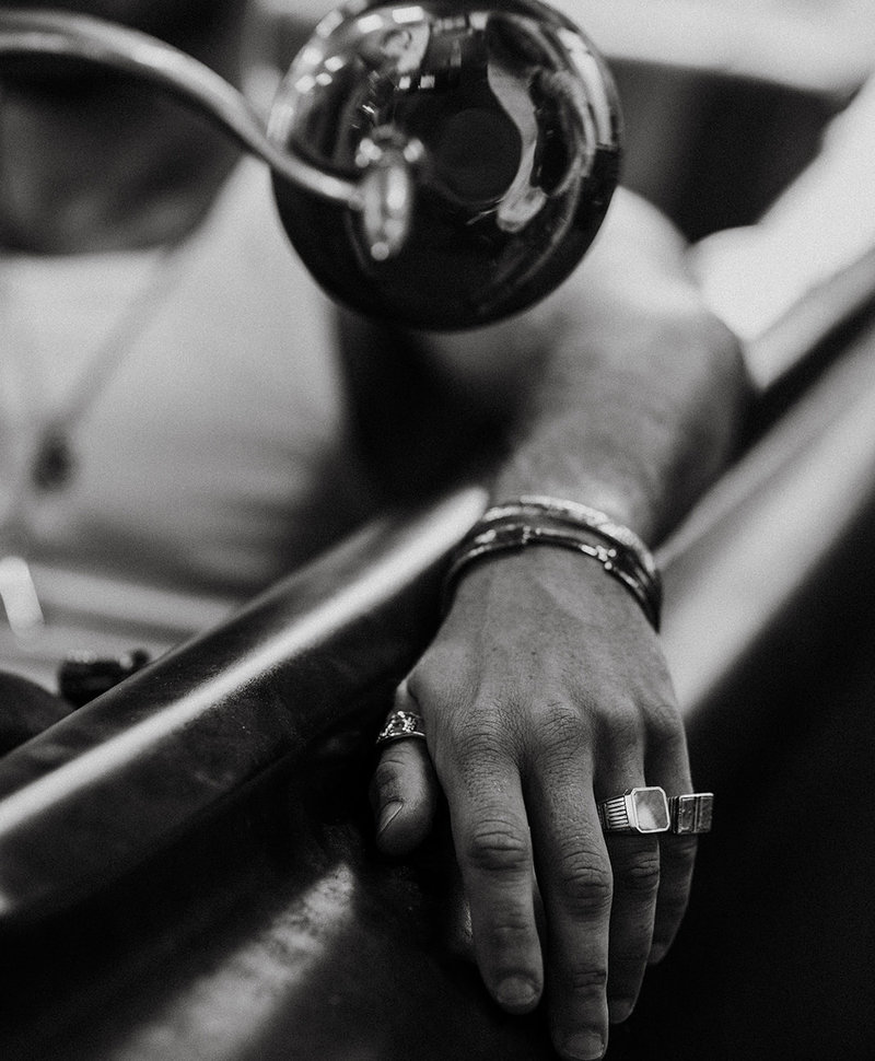 Ash Brown  Shell Ring Lincoln