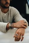 Zilveren Multi-Chain Armband Mannen Chapman