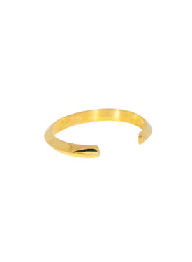 Lustrous Cuff Cyrene, Gold Plated