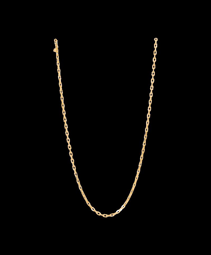 Gold Plated Grove Schakelketting Erato