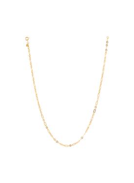 Chunky Oval Necklace Artemis, Gold Plated