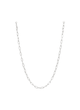 Elegant Chunky Necklace Aura, Silver