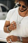 Zilveren Klassieke Mannen Ring Obi
