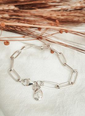 Zilveren Armband Met Ohm Bedeltje Melpomene