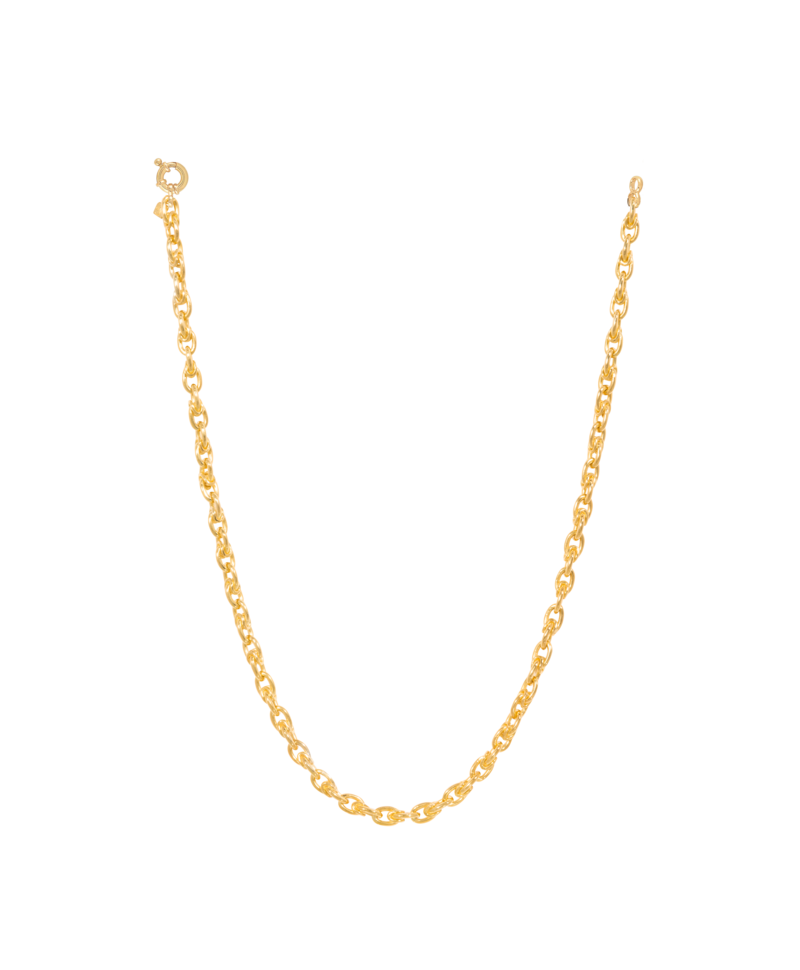 Chunky Necklace Sibyl, Gold Plated