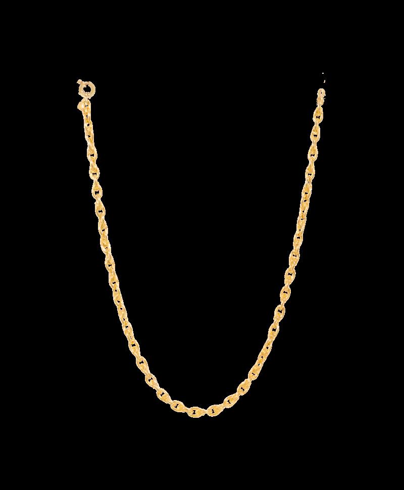 Gold Plated Chunky Schakelketting Sibyl