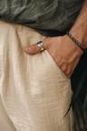 Zilveren Schakelarmband Mannen Amalfi