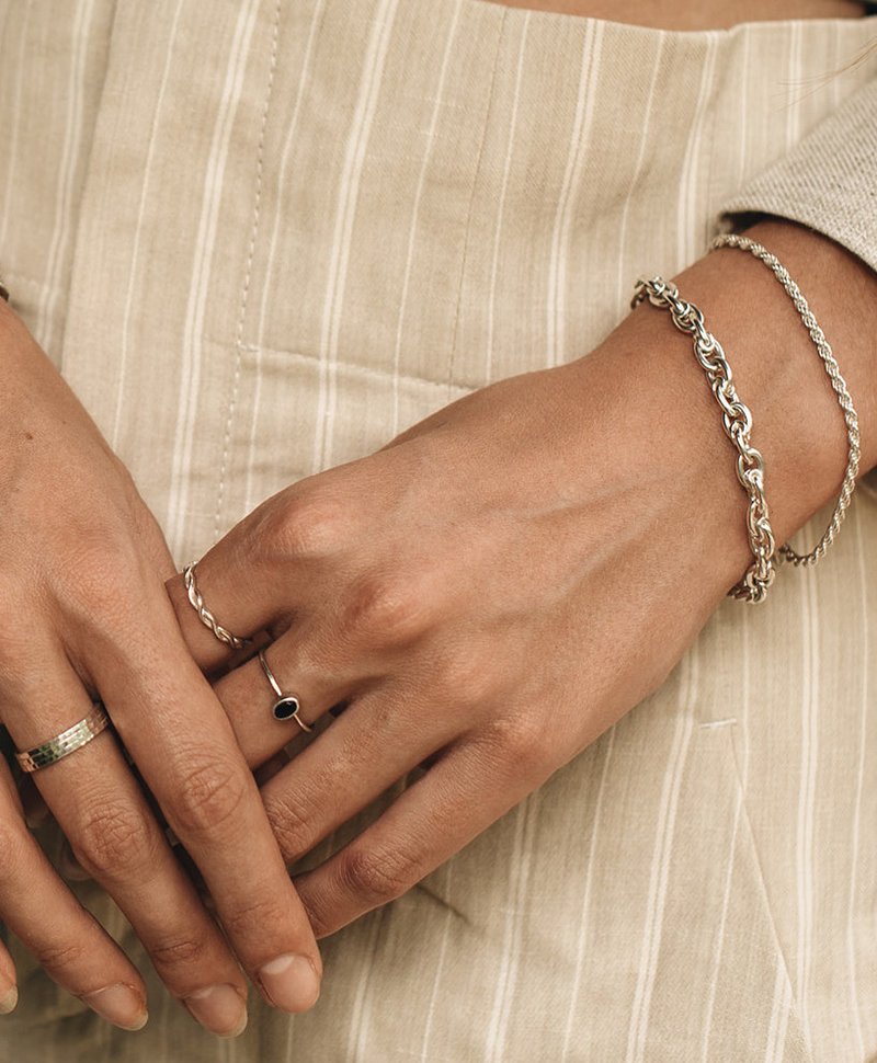 Zilveren Ring Met Rookkwarts Asteria