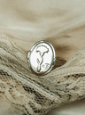 Nature Child Ring Wildflower, Silver