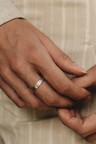 Stacked Ring Juji, Silver
