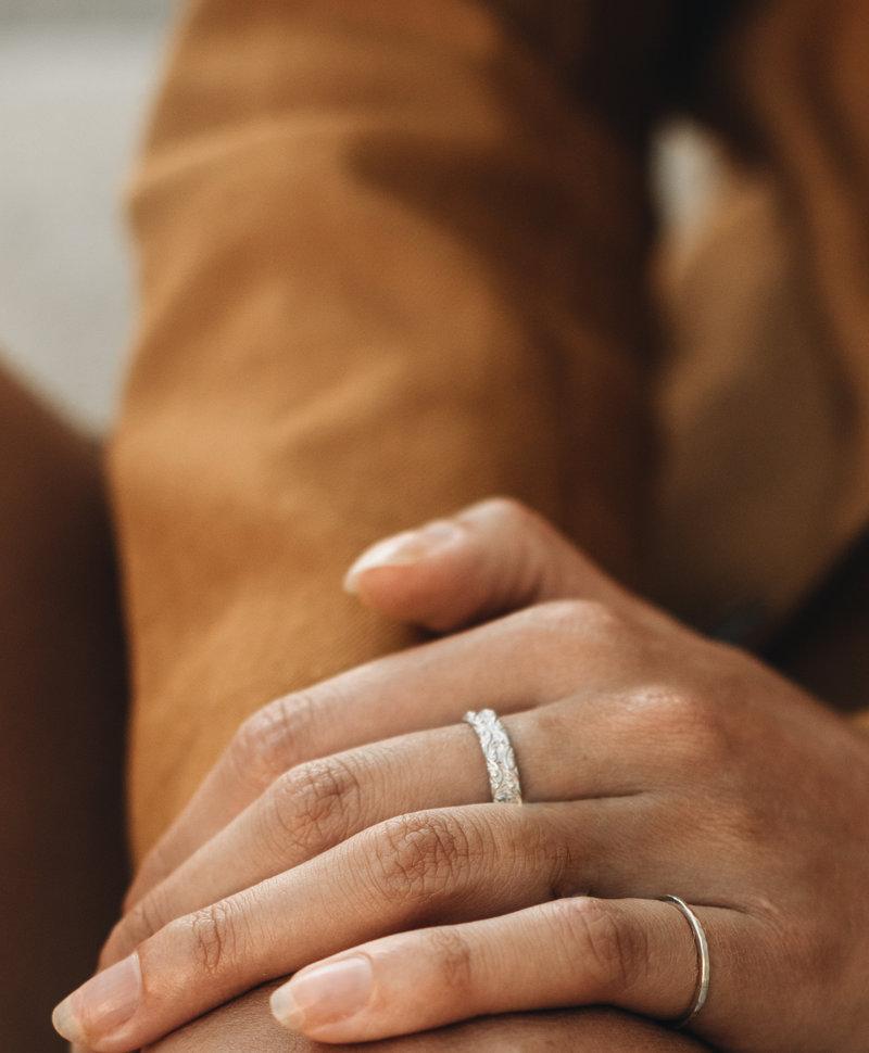 Zilveren Fijne Ring Lenka