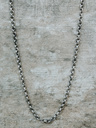 Oxidized Round Chain Necklace Aeson