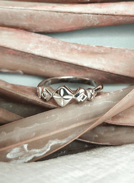 Ancient (Pinky) Ring Thaleia, Silver
