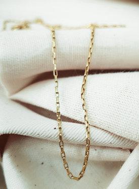 Gold Plated Minimalistische Ketting Naluri