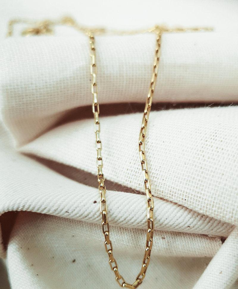 Basic Necklace Naluri, Gold Plated