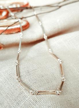 Zilveren Vintage Ketting Helene