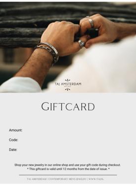 Taj Geschenkkarte Männer| Starting from € 15