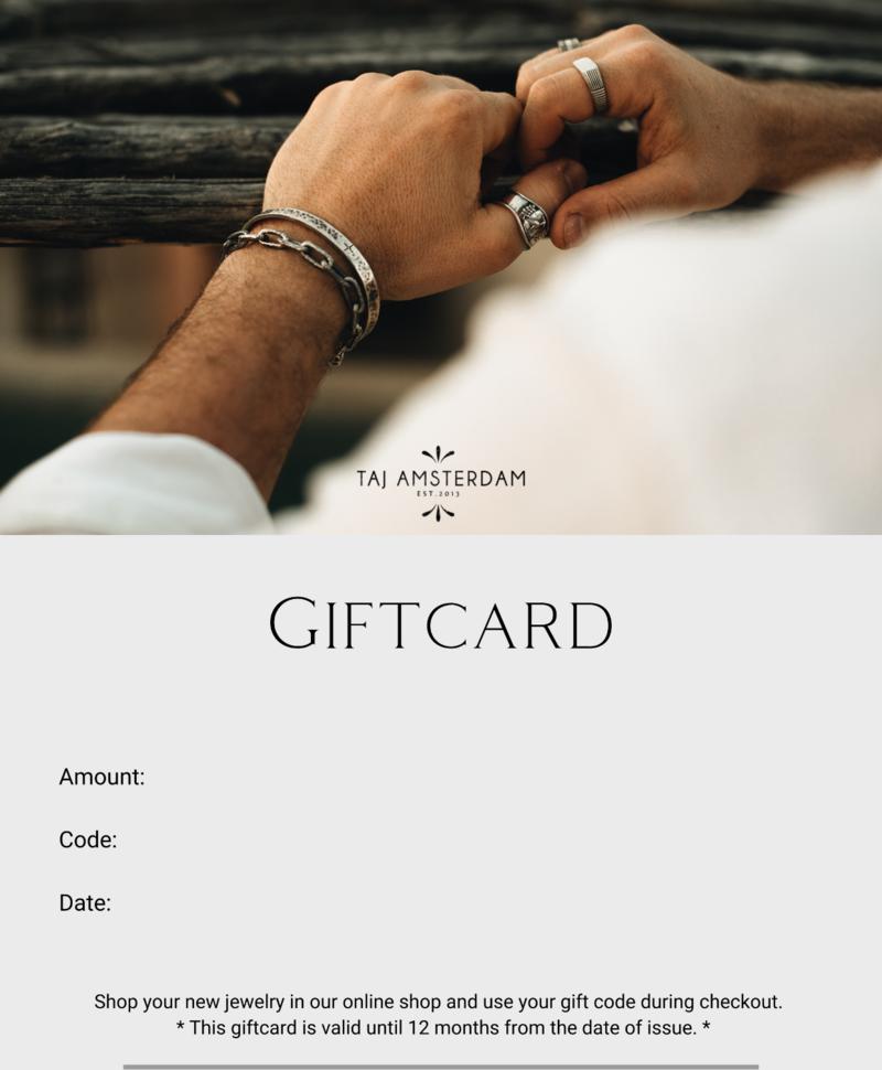 Sieraden Cadeaubon Mannen | Vanaf  € 15