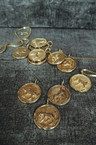 Gold Plated Chinese Zodiac pendants Men's