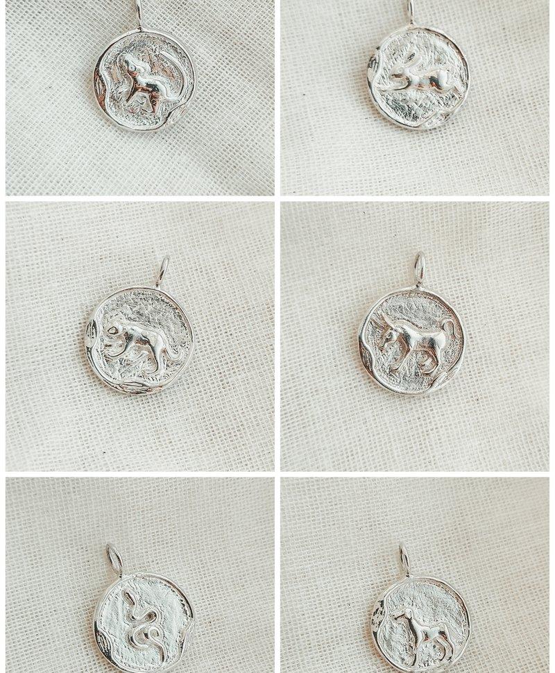 Silver Chinese Zodiac Pendants