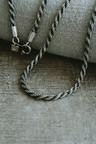 Oxidized Rope Chain, Stelvio