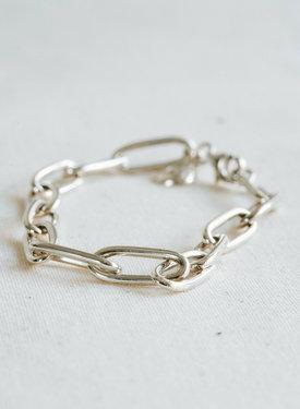 Ohm Charm Bracelet Melpomene, Silver