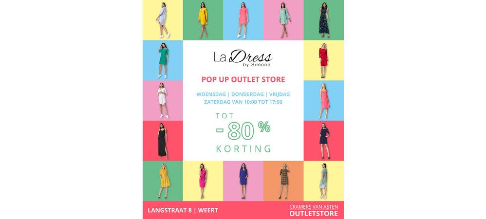 Kom je langs in onze La Dress pop-up outlet store?