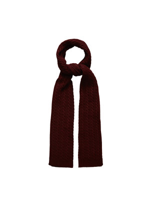 Eton Shawl bordeaux rood