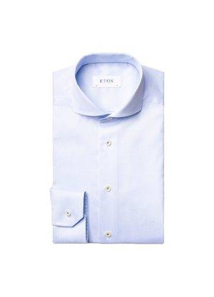 Eton Overhemd Lichtblauw LM