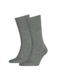 Tommy Hilfiger Tommy Hilfiger 2-pack sokken 758 Grijs