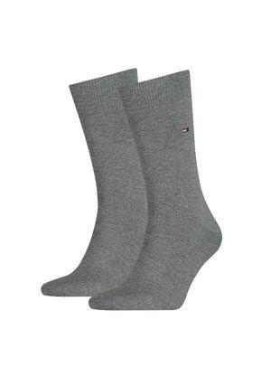 Tommy Hilfiger 2-pack sokken 758 Grijs