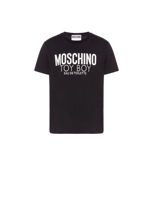 Moschino Toy Boy Jersey T-shirt Zwart