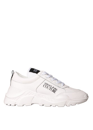 Versace Jeans Couture Sneakers logo Wit