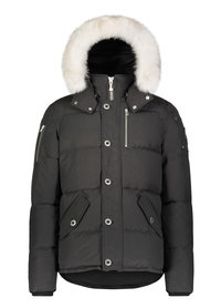 Moose Knuckles Moose Knuckles heren Jacket Zwart/Wit 3Q jkt