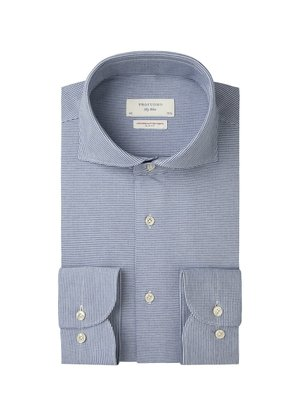 Profuomo Japanse knitted overhemd Blauw