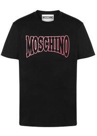 Moschino Moschino Jersey T-Shirt Zwart A0728 2040 1555