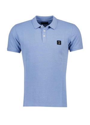 Butcher of Blue Comfort Polo Blauw