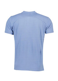 Butcher of Blue Butcher of Blue Comfort Polo Blauw