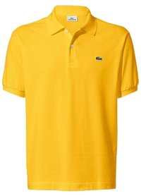 Lacoste LACOSTE polo km Geel 1hp3 mens polo wasp