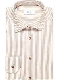 Eton Eton shirt lm dress Ecru 100002202 33
