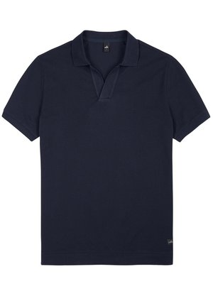 Wahts Rice Polo Blauw