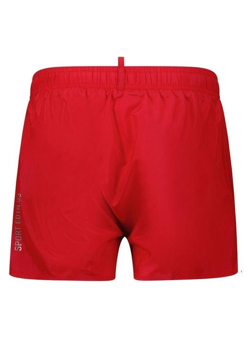 Dsquared2 Kids Dsquared Kids Zwembroek Logo Branded Rood dq0052 - d00qk dq405