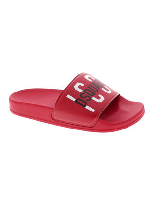 Dsquared2 Kids ICONS Slippers Rood