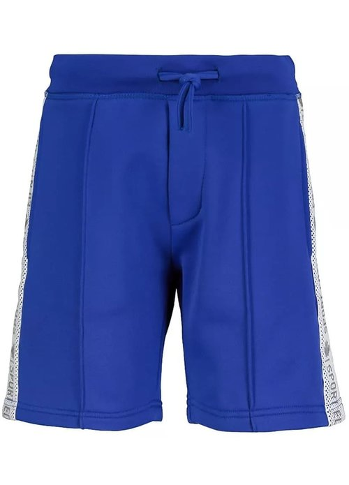 Dsquared2 Kids Dsquared Kids Sport Tape Trainingsshort Blauw dq0011 - d003s dq857
