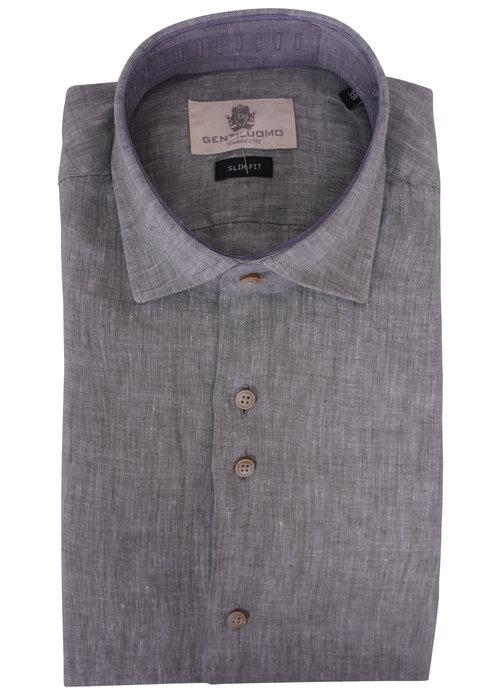 Gentiluomo Gentiluomo shirt lm Groen s3051-120 070