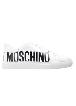 Moschino Sneakers logo Wit