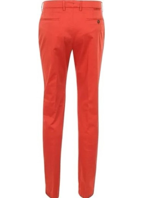 Berwich Berwich pantalon katoen Kobalt mx011x tabasco