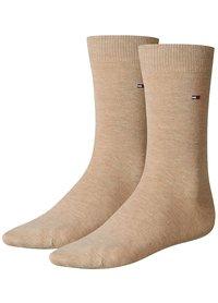 Tommy Hilfiger dobotex sokken kort Beige 371111 369